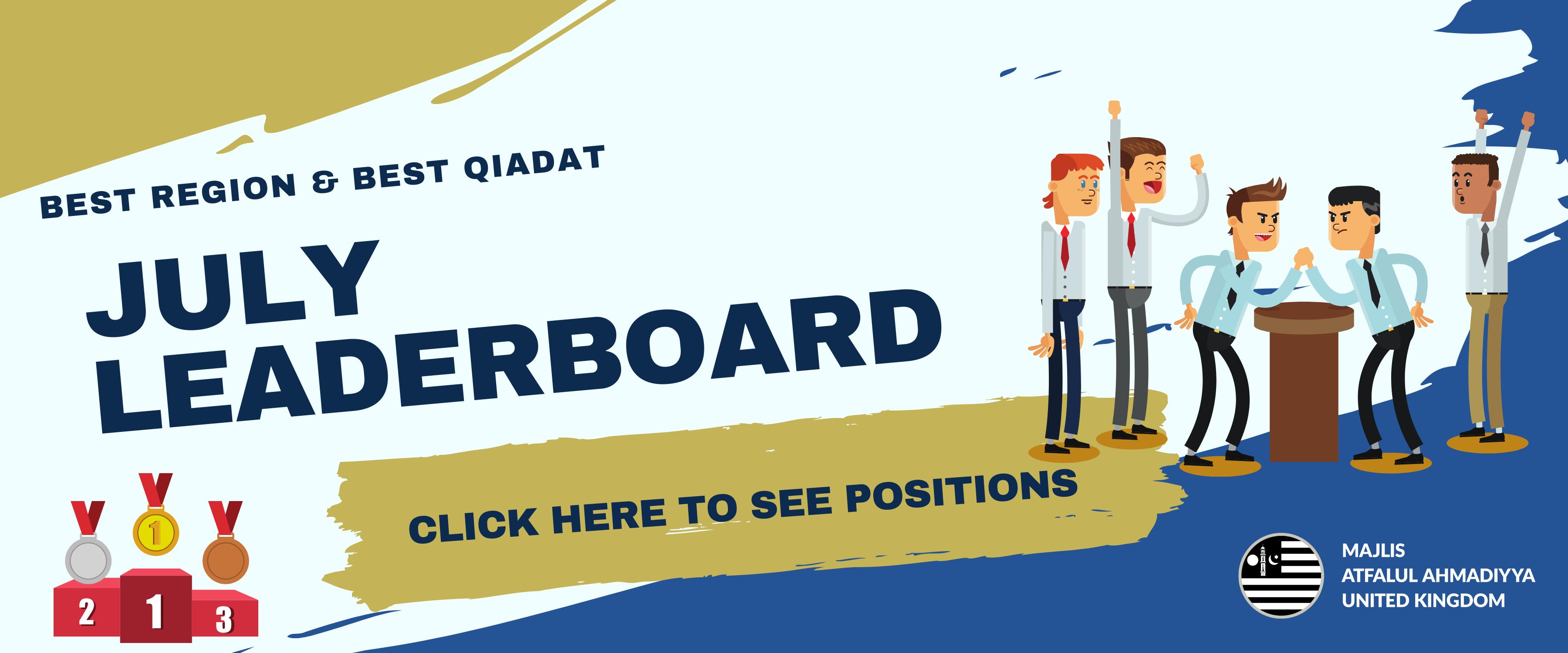 July-Leaderboard